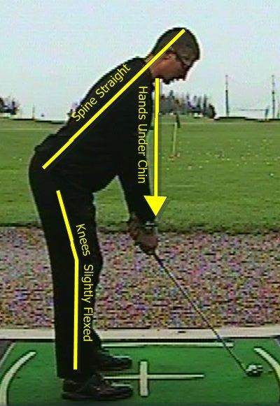 Fix your posture when playing #golf with these tips.