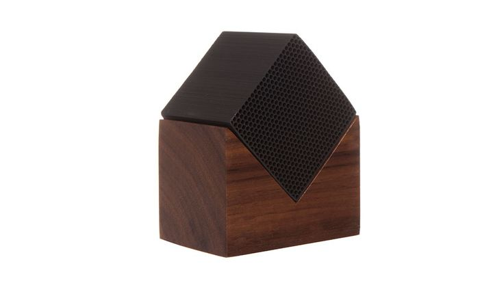 MONOQI   Cube House Air Filter - Walnut