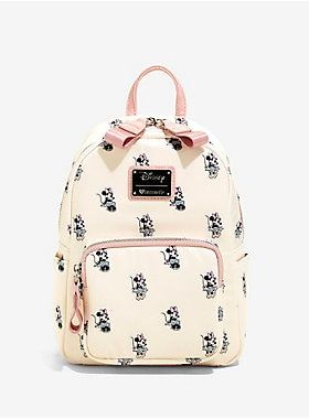 d668c29df70 Loungefly Disney Minnie Mouse Satin Mini Backpack in 2019