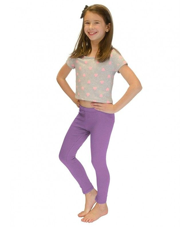 Vivians Fashions Long Leggings Baby Girls Cotton