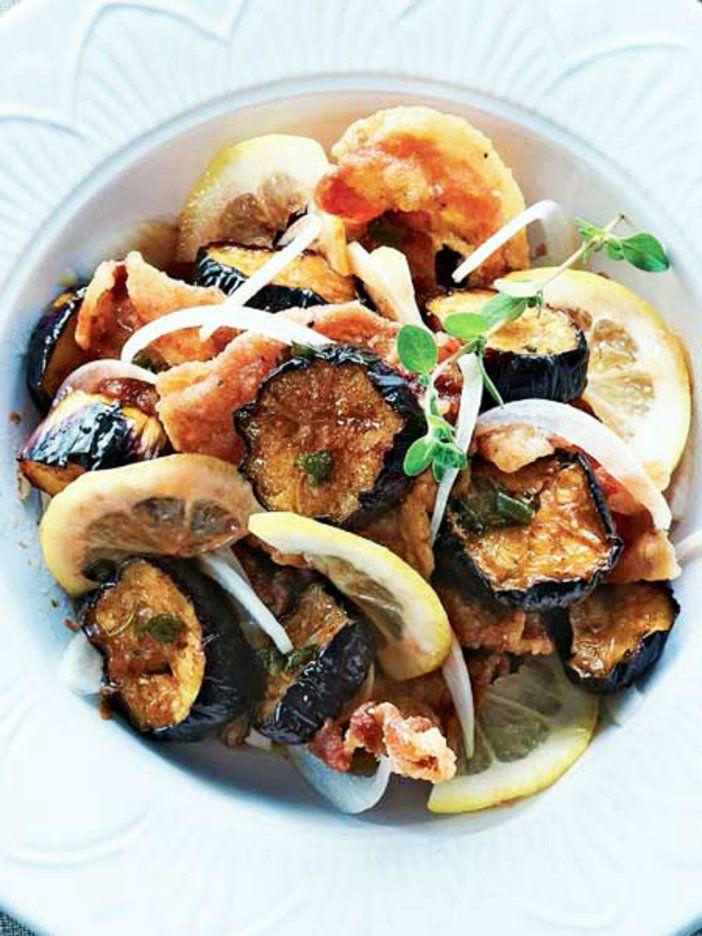 なすはジュワー、豚肉はカリカリの食感。 『ELLE gourmet(エル・グルメ)』はおしゃれで簡単なレシピが満載!
