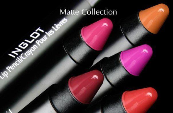 Lip pencils matte collection