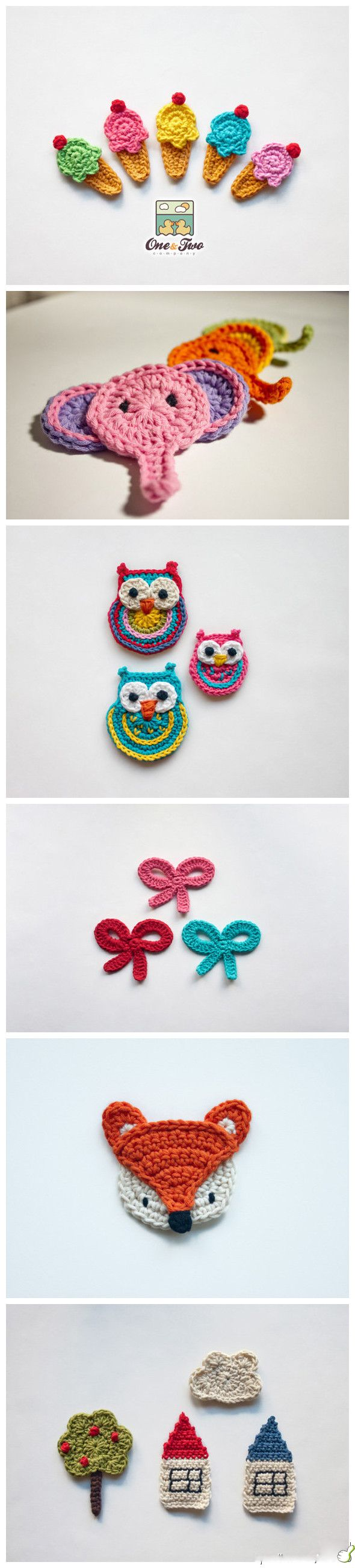 Flat crochet so wonderful to add to clothing for kids.