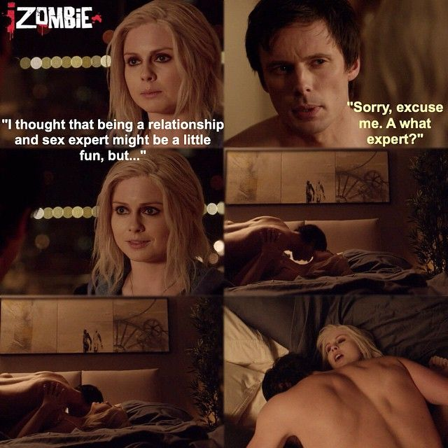 "#iZombie 1x08 ""Dead Air"" - Liv and Lowell"