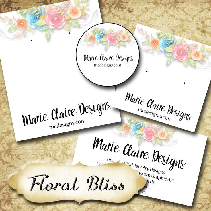FLORAL BLISS•Custom Tags•Labels•Earring Display•Clothing Tags•Custom Hang Tags•Boutique Card•Tags•Custom Tags•Custom Labels by JulryPartZ on Etsy https://www.etsy.com/listing/486644864/floral-blisscustom-tagslabelsearring