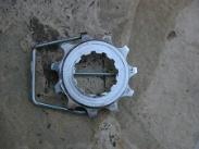 Extra Small Bike Cog Belt Buckle