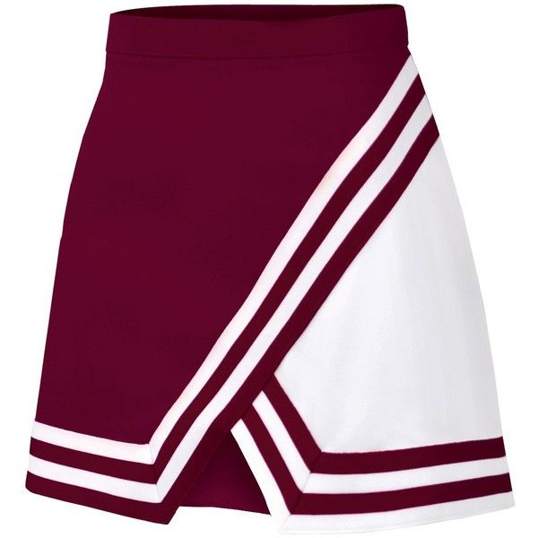 Womens Double-Knit Panel A-Line Cheerleading Uniform Skirt (26.425 IDR) ❤ liked on Polyvore featuring skirts, sport, sport skirt, panel skirt, purple a line skirt, purple skirt and sports skirt