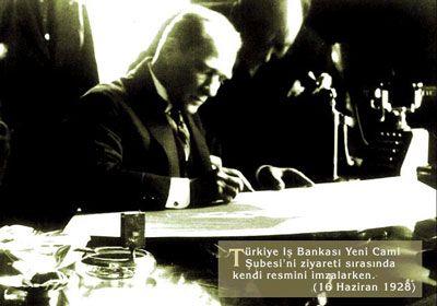 Atatürk (İş Bankası 1928)