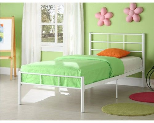 top 11 white metal twin bed frame ideas