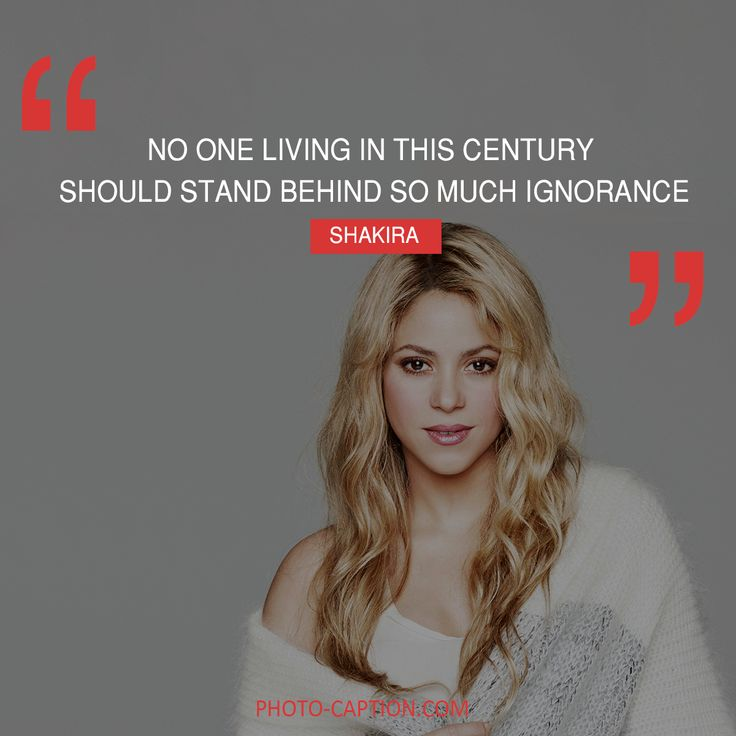 ''No one living in this country should stand behind so much ignorance.'' Shkira #Shakira #celebrities #celebrity #Hollywoodstars #Hollywood #presidents #election2016 #ElectionDay #MyVote2016 #DonaldTrump #Donald_Trump #voted #postvotingstressrelief #quote #quotes #quotegram #quoteoftheday #caption #captions #photocaption #FF #instafollow #l4l #tagforlikes #followback