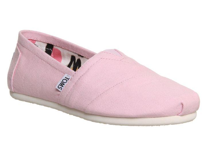 Toms Seasonal Classic Slip On Pink Icing - Flats