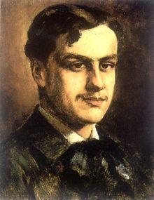 Retrato de Augusto d'Halmar.