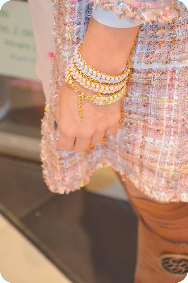 suede friendship bracelets by Hermina wristwear