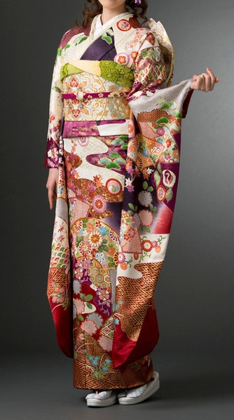 Kimono - love the design and color on this one