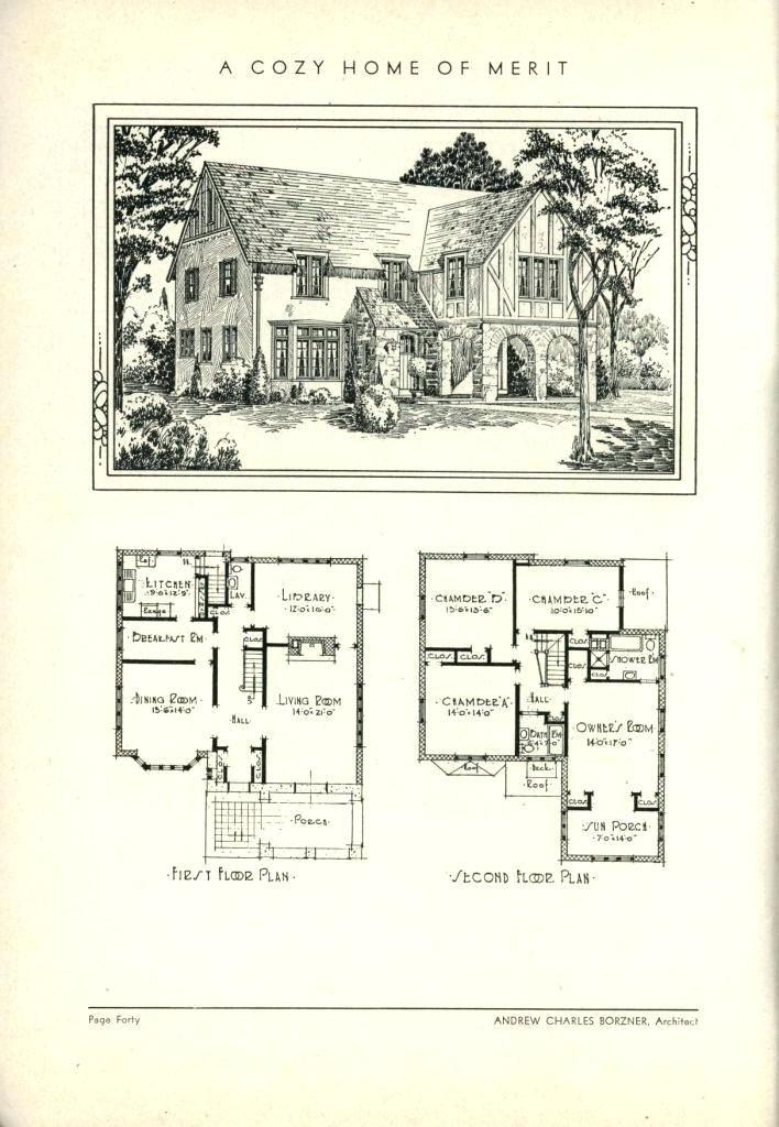 Storybook Cottage Planslovely Storybook Cottage Plans For Book Of House Plans Regular Home Pl House Floor Plans Vintage House Plans How To Plan