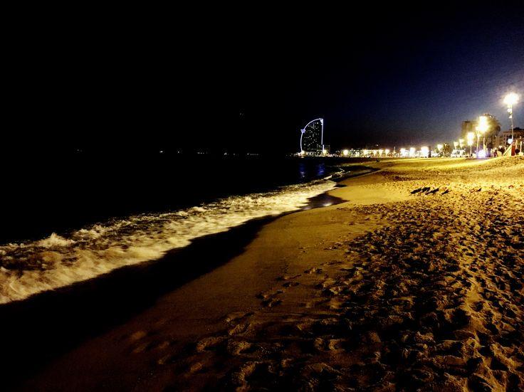 Barceloneta beach,Barcelona