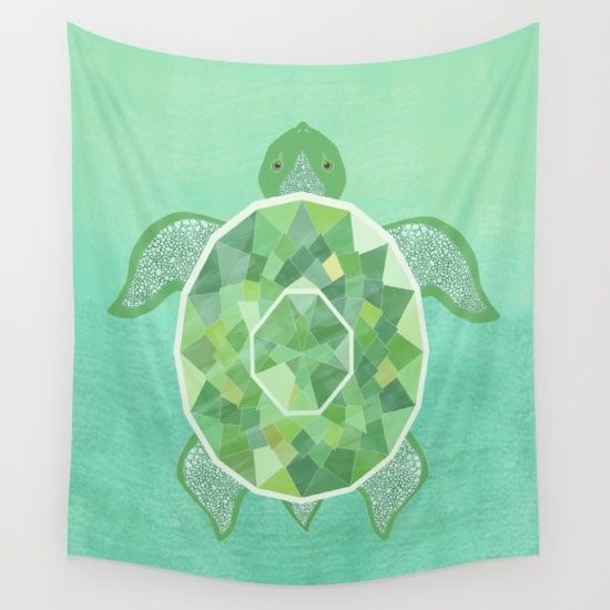 Buy Turtle Wall Tapestry by diloranium. Worldwide shipping available at Society6.com. Just one of millions of high quality products available.
