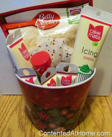 Cookie Baking Basket - Gifts on a Budget