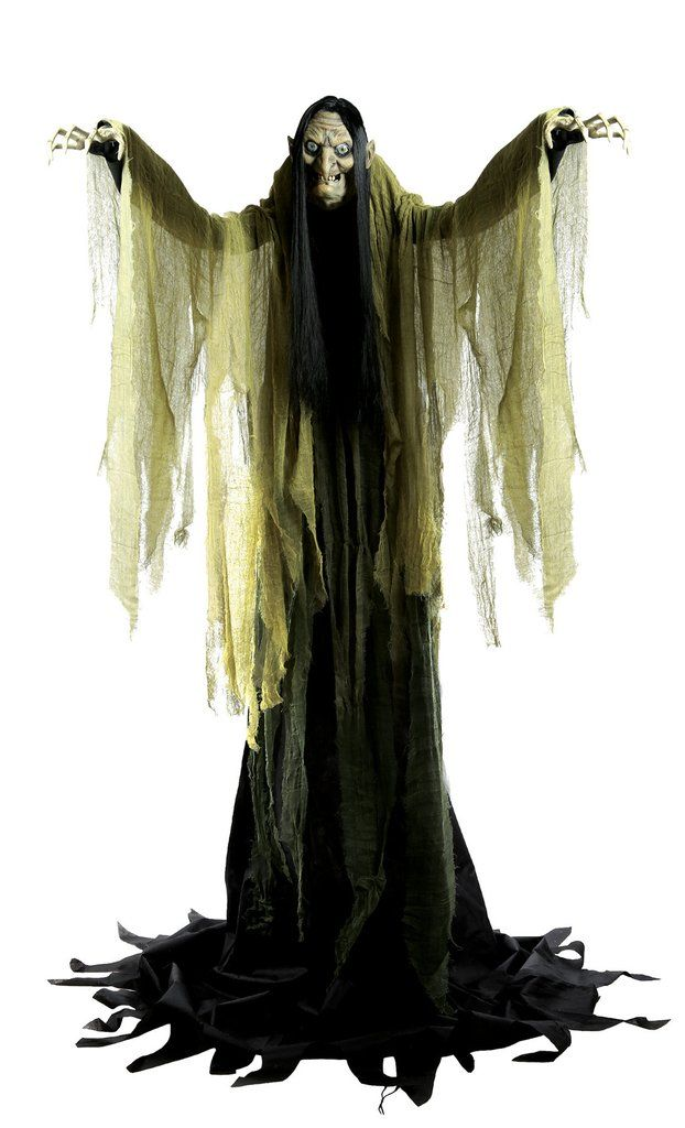 hagatha the towering witch indoor halloween decorationshalloween - Halloween Decorations Witches