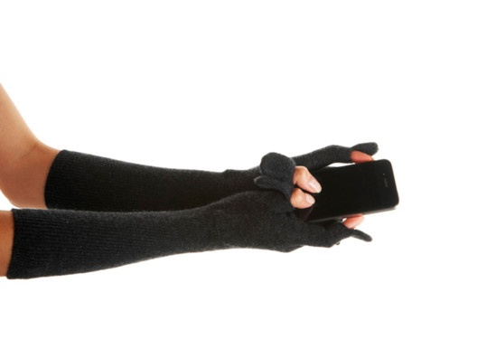 Magaschoni Cashmere Smartphone Gloves from Kelly Rutherford on OpenSky