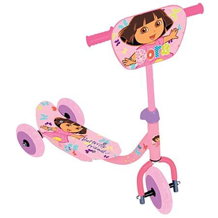 Dora The Explorer Scooter 3 Wheel