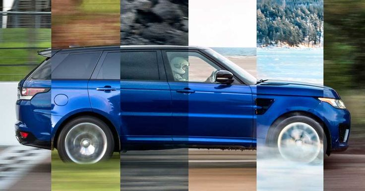 Range Rover Sport SVR Will Hit 62 In 5.5 Seconds... On Sand, Grass, Or Gravel [w/Video] #Land_Rover #Land_Rover_Videos