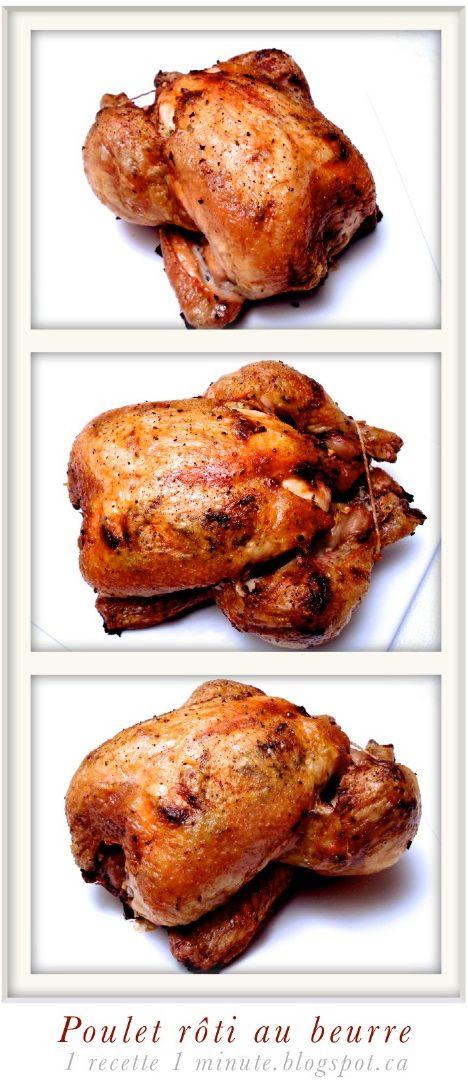 Idées de Recettes pour la Thanksgiving: le Poulet Rôti au Beurre