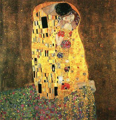 The KissKlimt Canvasreplicas Com, Klimt Gallery, Happy Birthday, Art Gustav Klimt, Klimt Inspiration, Favorite Piece, Kisses Klimt, Art Beautiful, Klimt Happy