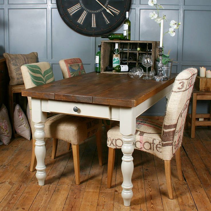 Best Ideas For The House Images On Pinterest French Style - Chantilly distressed dining table by little tree furniture