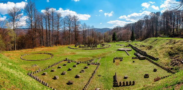 #Sarmizegetusa Regia- was the capital and the most important military, religious and political centre of the Dacians