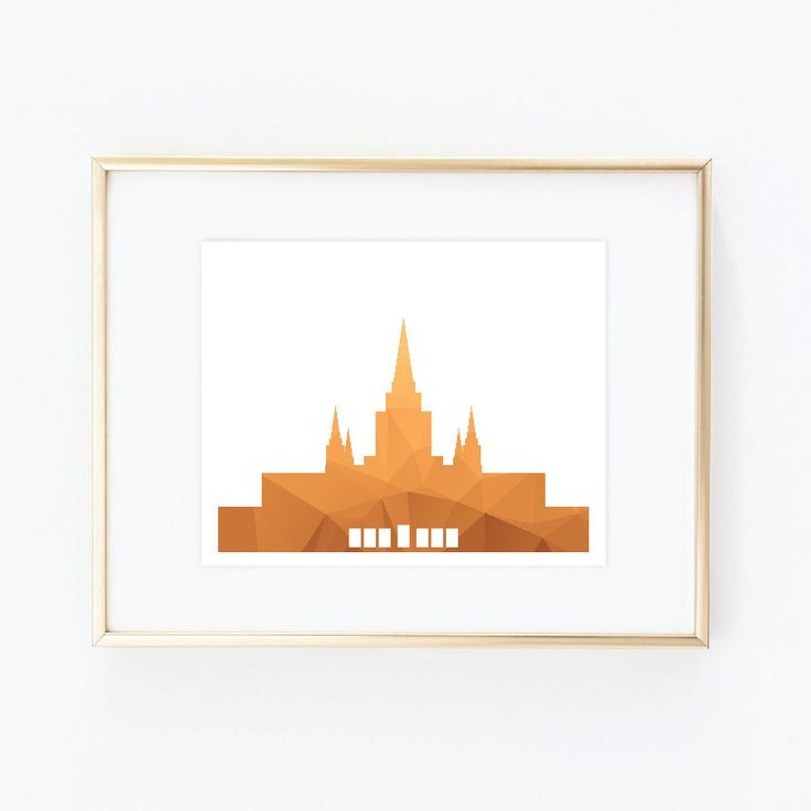 Oakland Temple, LDS Temples, House of the Lord, LDS Printable, LDS Prints, Lds Wall Art, Lds Instant Download, Lds minimalist, Lds Modern by QuotableStuff on Etsy