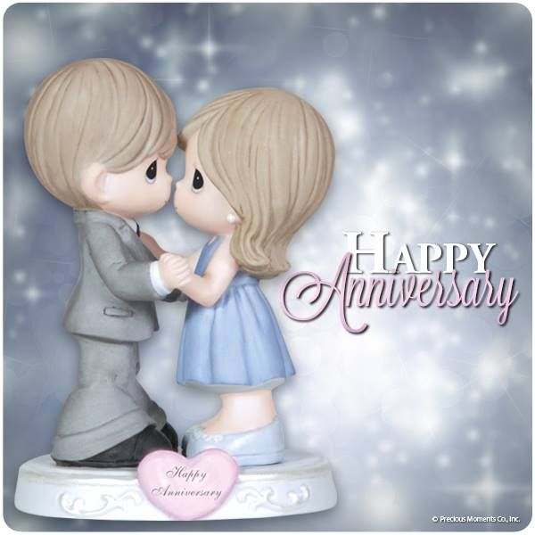 Happy Anniversary to you! #preciousmoments #anniversary