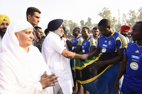 For connecting the youth with sports and for developing a nursery of young sports persons in the state, sports schools would be opened in all districts of the state. This announcement was made by Dy CM Sukhbir Singh Badal while addressing the crowd in the grounds of Sant Baba Prem Singh Karamsar Khalsa College, Begowal.  #AkaliDal #ProgressivePunjab #6thWorldCubKabaddi