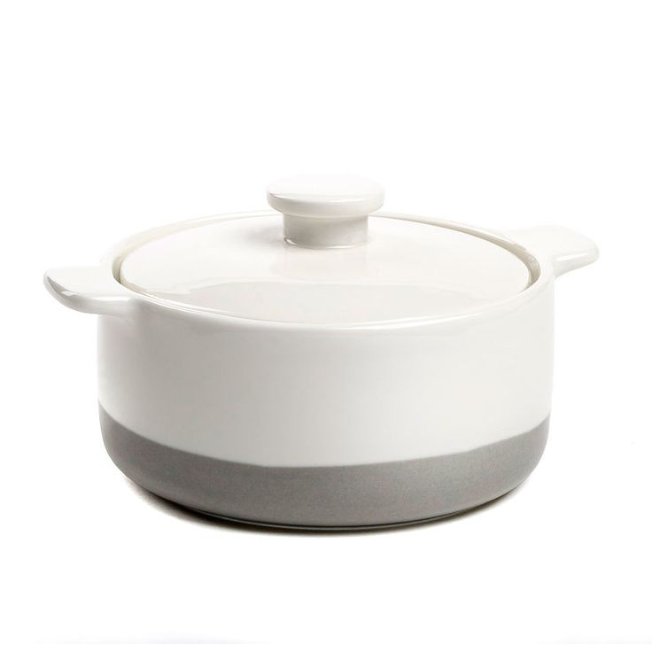 Staples Haze Small Round Casserole with Lid 12x5cm (Set of 2) $13.90
