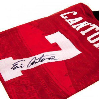 Manchester United F.C. Cantona Signed Shirt