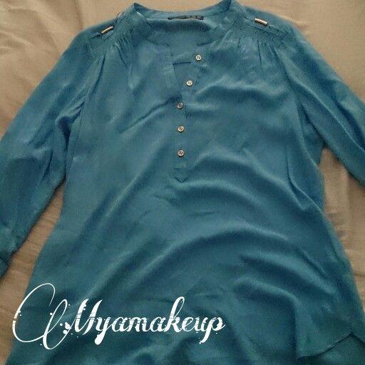 Camisa celeste Primark