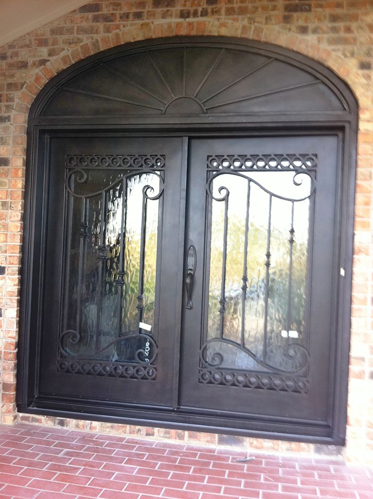Grand entry door elegant iron doors pinterest for Grand entrance doors