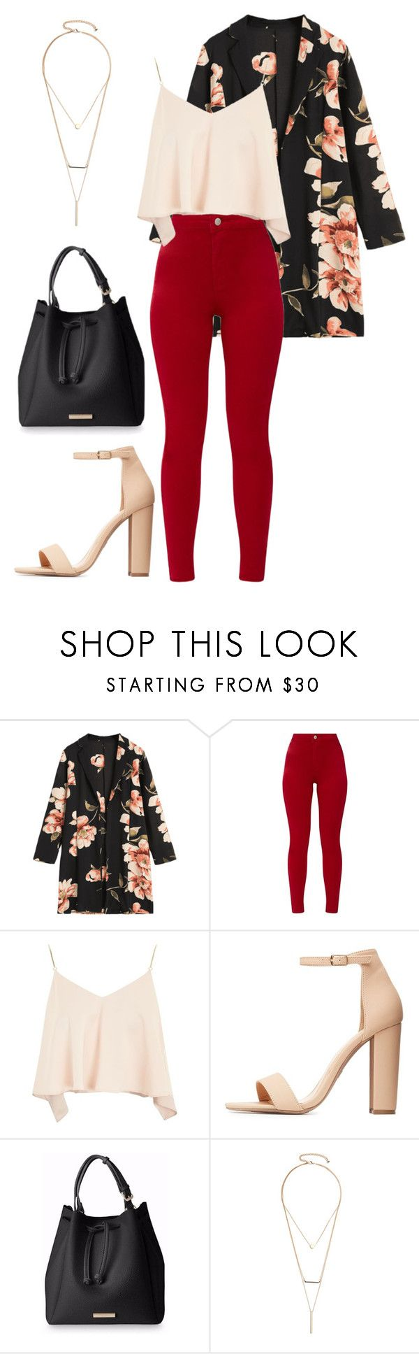 """""""Без названия #520"""" by anastasia-efremova on Polyvore featuring мода, Topshop, Charlotte Russe и GUESS by Marciano"""