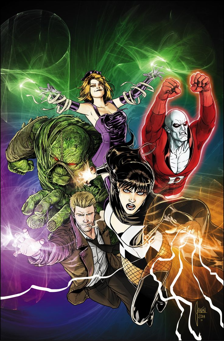 JUSTICE LEAGUE DARK #30 Written by J.M. DeMATTEIS Art by ANDRES GUINALDO and MARK IRWIN Cover by MIKEL JANIN