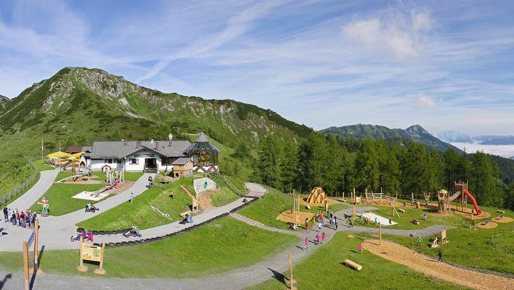 Spielplatz Weltcup der Tiere an der Gamskogelhütte in Zauchensee | Flickr - Photo Sharing!
