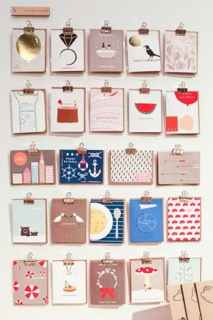 National Stationery Show 2013, Part 4 - Carolyn Suzuki via Crow & Canary