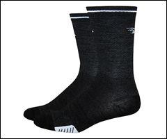 Defeet Cyclismo 5'' Wool w/ Reflective Stripe Socks at http://www.blueskycycling.com/product/9754/26/Defeet_Cyclismo_5_Wool_w_Reflective_Stripe_Socks.htm