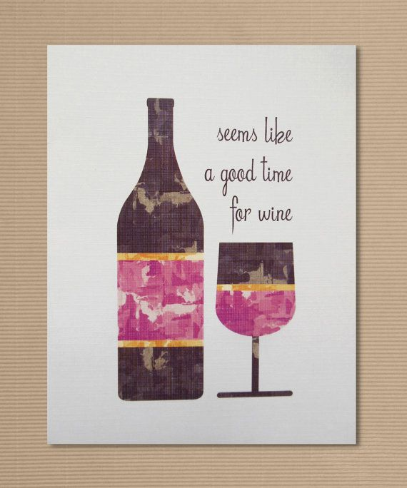 Discover Ideas About Wine Drinks Greeting Card