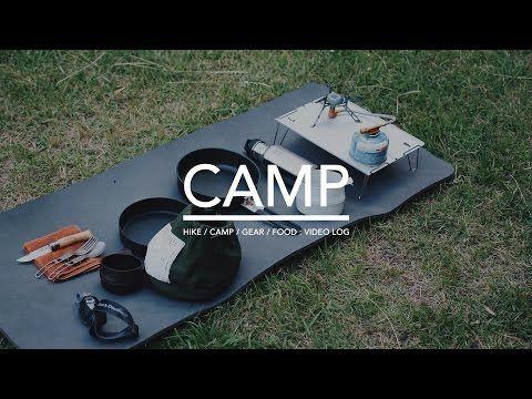 #43 新緑キャンプ,ダンボール燻製,アウトドア料理,Simple Camping,Smoked - YouTube