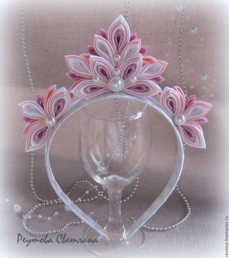 Купить Корона новогодняя для девочек Розовый блеск - розовый, однотонный, корона, корона для принцессы