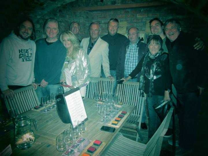 Bonnie Tyler - Spicy Route (On September 4th, Bonnie Tyler and her band were at Spice Route then they go to Laborie Wine Farm and they had a lunch there)