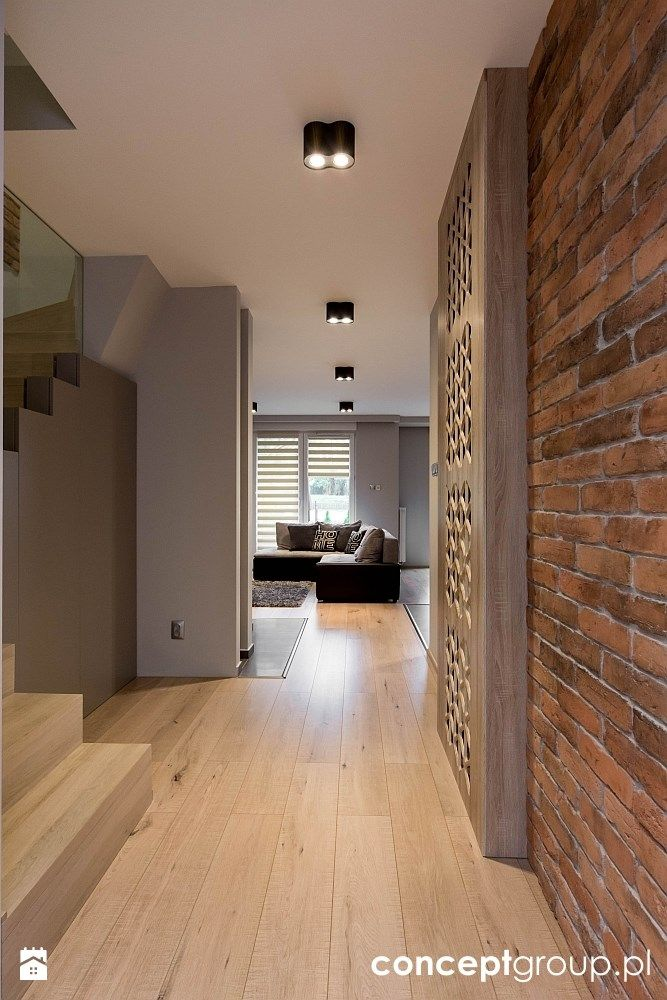 Dom w Rudzie Śląskiej - Realizacja - Hol / przedpokój, styl nowoczesny - zdjęcie od Conceptgroup