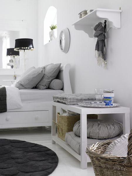 slaapkamer leuk idee!