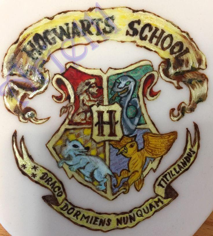 Harry Potter Hogwarts character - Drawing on sugar