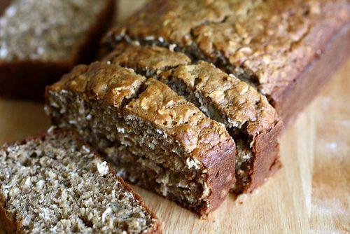 Low Fat Oatmeal Banana Bread | Joy the Baker
